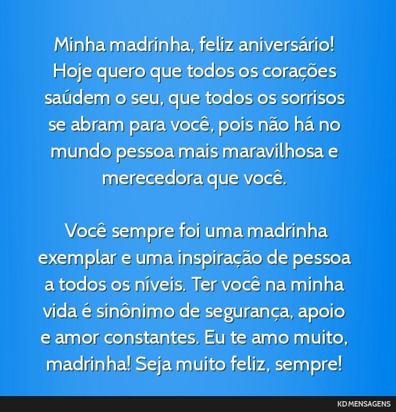 Tag Mensagem De Feliz Aniversario Para Madrinha Amiga